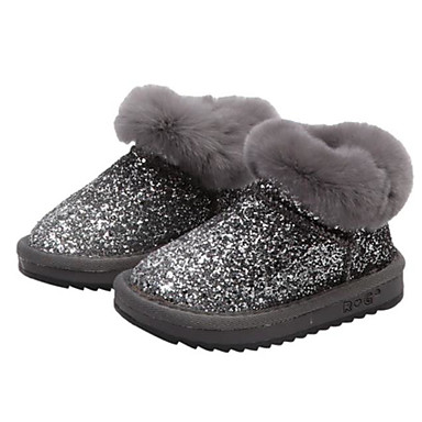 1e2c6850f1c Girls  Shoes Patent Leather Winter Snow Boots Boots Sequin for Toddler Black    Silver   Light Brown   Booties   Ankle Boots 7059625 2019 –  34.99