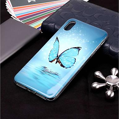 povoljno iPhone maske-Θήκη Za Apple iPhone XS / iPhone XR / iPhone XS Max Sjaji u mraku / Uzorak Stražnja maska Rukav leptir Mekano TPU