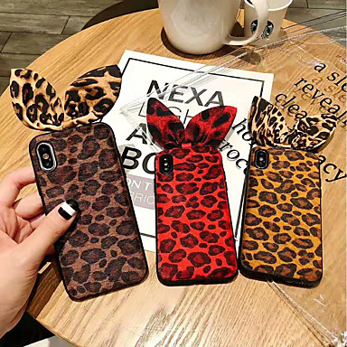 hot sale online 9938c 74355 [$5.99] Case For Apple iPhone X / iPhone XS Max Shockproof Back Cover  Leopard Print Soft TPU for iPhone XS / iPhone XR / iPhone XS Max