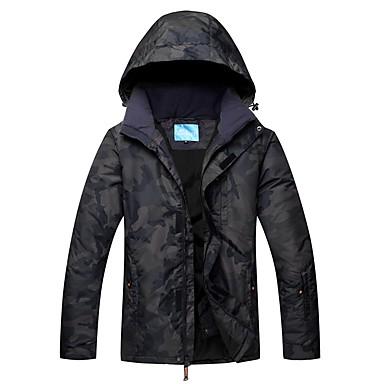 55a8715661 RIVIYELE Men s Ski Jacket Waterproof Thermal   Warm Windproof Camping    Hiking Winter Sports Cotton Chinlon Windbreaker Warm Top Top Ski Wear  7076769 2019 – ...