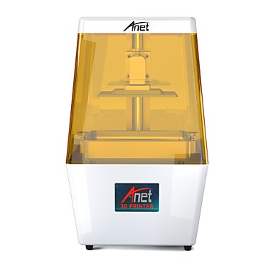 cheap Weekly Deals-Anet N4 New UV Photocuring LCD 3D Printer with 3.5 Inch Smart Color Touch Screen Off-line Print - WHITE