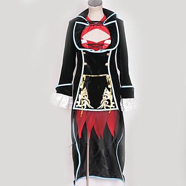 Inspirirana Vocaloid Meiko Anime Cosplay nošnje Japanski Cosplay Suits Posebni dizajni Haljina / Plašt / More Accessories Za Muškarci / Žene