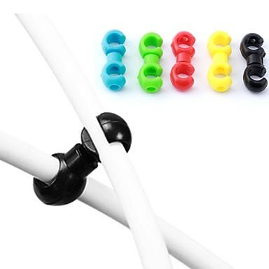 povoljno Dijelovi za bicikl-Bike C isječci Za Cestovni bicikl / Mountain Bike plastika Nesavitljivo / Rotirajuća rasvjeta Biciklizam Crvena Zelen Plava