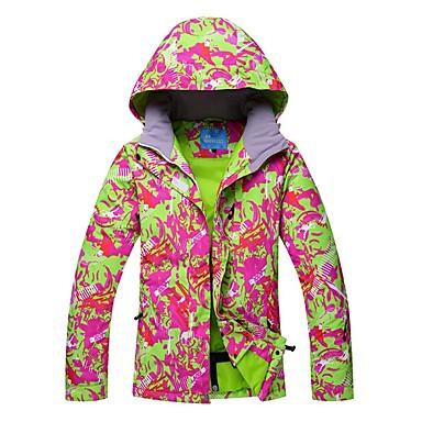 cd08420ae1 RIVIYELE Women s Ski Jacket Waterproof Thermal   Warm Windproof Skiing  Camping   Hiking Winter Sports Cotton Chinlon Windbreaker Warm Top Top Ski  Wear ...