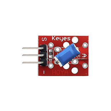 voordelige Elektrische apparatuur & benodigdheden-kantelkopmodule (rood) pin-headers