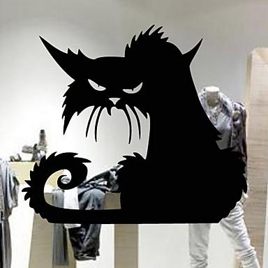 Prozor Film i Naljepnice Ukras Halloween Odmor PVC Cool / Puno radno tijelo Naljepnica