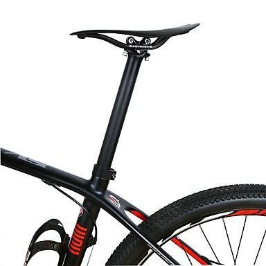 povoljno Dijelovi za bicikl-Carbon Fiber Cijev sjedala 31.6/30.8/27.2 mm 34.9/30.2 mm 350 / 400 mm Cestovni bicikl Mountain Bike Biciklizam Matt 3K Crn Carbon Fiber Acetat ABS