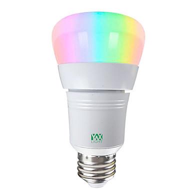 YWXLIGHT® 1pc 7 W LED okrugle žarulje Smart LED žarulje 600-700 lm E26 / E27 14 LED zrnca SMD 5730 APP kontrola Smart Zatamnjen RGBW RGBWW 85-265 V / RoHs