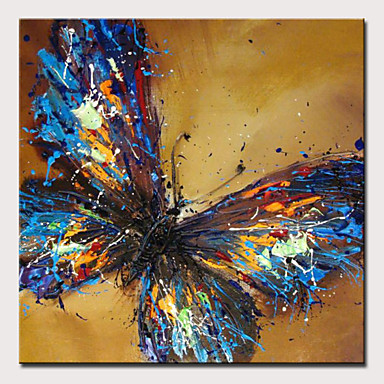 5d03835c60 Oil Painting Hand Painted - Abstract Pop Art Modern Rolled Canvas 7091584  2019 – $30.59