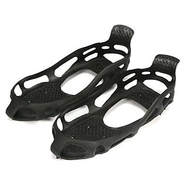 povoljno Motori i quadovi-24 spikes non-slip studs snijeg led blato crampons overshoes čizme cipela gripper s-xl