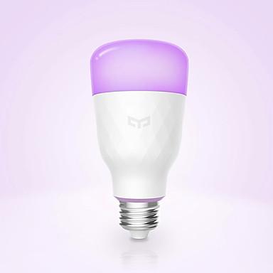 YEELIGHT 1pc 10 W Smart LED žarulje 800 lm E26 / E27 1 LED zrnca APP kontrola Smart Zatamnjen Multi-boje 100-240 V