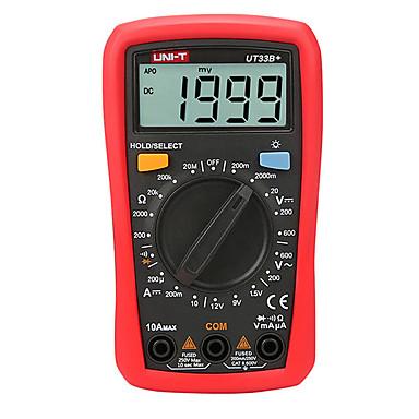 Uni T Ut33b Digital Multimeter 200mv 600v 10a Ac Dc Voltmeter
