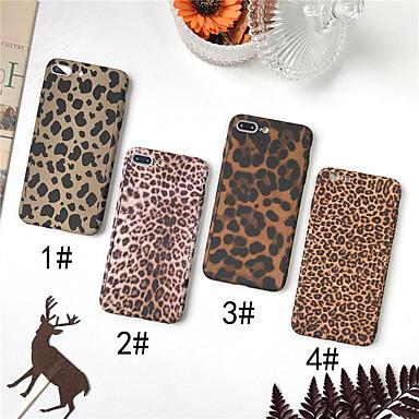 povoljno iPhone maske-Θήκη Za Apple iPhone XS / iPhone XR / iPhone XS Max Mutno Korice Uzorak leoparda Tvrdo PC