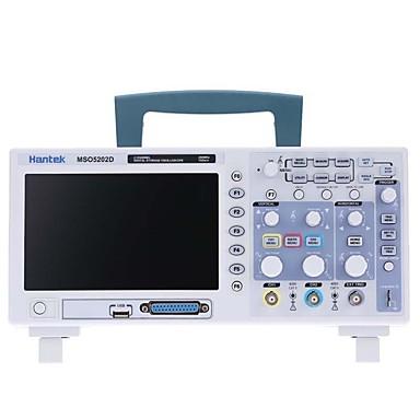 voordelige Test-, meet- & inspectieapparatuur-hantek 200 mhz mso5202d gemengd signaal digitale oscilloscoop 16 logische kanalen +) + 2 analoge kanalen + extern triggerkanaal
