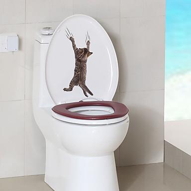 Naljepnice za WC - Naljepnice za zidne zidove Životinje Stambeni prostor / Spavaća soba / Kupaonica