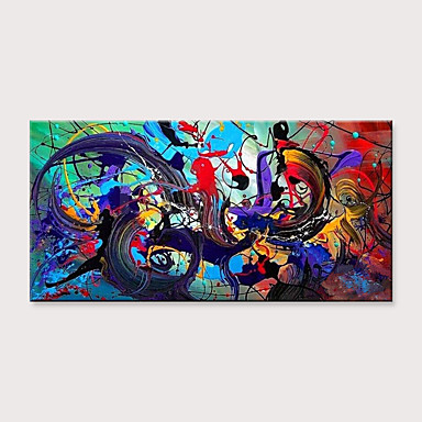 27 53 Oil Painting Hand Painted Abstract Modern Rolled Canvas
