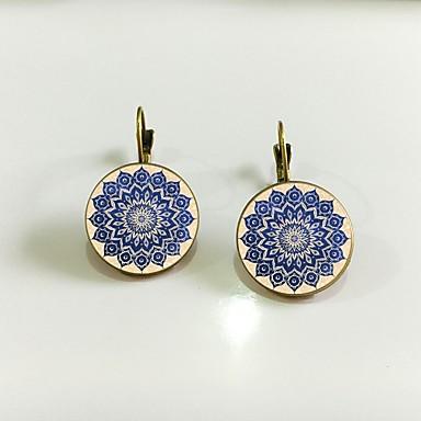 Žene Sitne naušnice Retro Cvijet Jednostavan Naušnice Jewelry Zlato / Pink Za Rođendan Izlasci 1 par