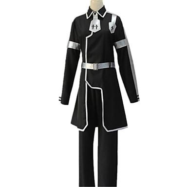 Inspirirana SAO Alicizacija Kirito Anime Cosplay nošnje Japanski Cosplay Suits Jednobojni Kaput / Hlače Za Uniseks