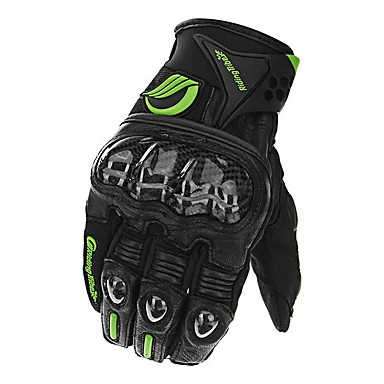 povoljno Motori i quadovi-touch screen karbonskih vlakana rukavice od ovčje kože moto utrke puni prst rukavica