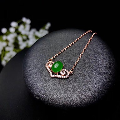 without chain Malay red jade round shape pendant