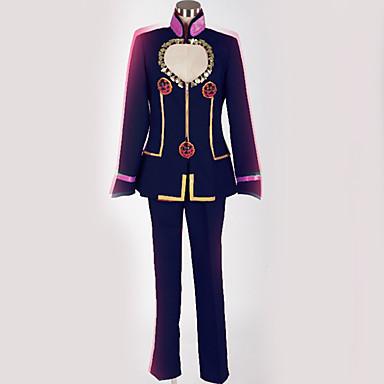 Inspirirana JoJo je Bizarno Avantura Giorno Giovanna / JoJo Anime Cosplay nošnje Japanski Cosplay Suits Posebni dizajni Top / Hlače / More Accessories Za Muškarci / Žene / Kostim / Kostim