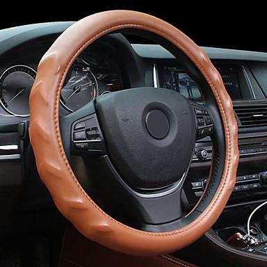 levne Doplňky do interiéru-masážní textura kůže ocelová kroužková kolečka pro 15 palců kola velikost auta