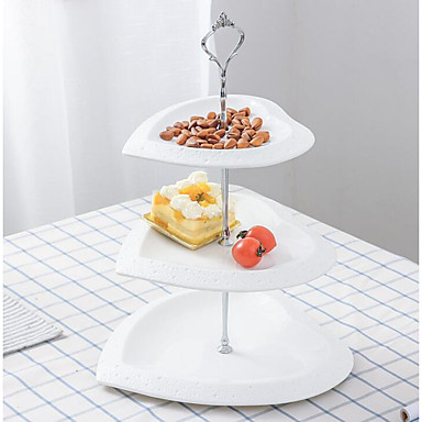 cheap Table Centerpieces-Pottery Table Center Pieces - Non-personalized Ornaments / Cake Stand Solid 1 pcs All Seasons