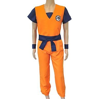 Inspirirana Dragon Ball Son Goku Anime Cosplay nošnje Japanski Cosplay Suits Slovo Others / Top / Hlače Za Uniseks