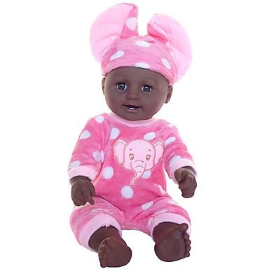 voordelige Poppenaccessoires-Doll accessoires Reborn-poppen Herboren peuter pop Olifant Baby jongens Schattig Kinderen / Tieners Pluche Kinderen Baby Unisex Speeltjes Geschenk 2 pcs