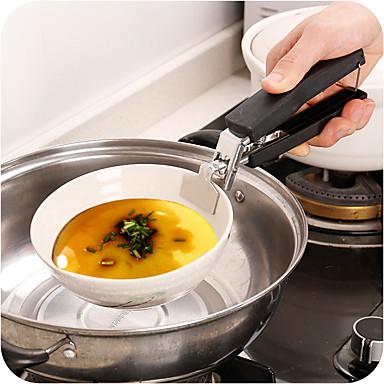 Stainless Steel + Plastic Tools Rukavica Za mikrovalna pećnica Kreativna kuhinja gadget Toplinski izolirani Kuhinjski pribor Alati Uporaba Multifunkcionalni Nova kuhinjska oprema 1pc