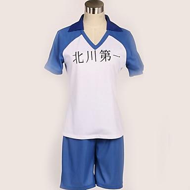 Inspirirana Haikyuu Cosplay Anime Cosplay nošnje Japanski School Uniforms Jednostavan / Gradovi Top / More Accessories / Kratke hlače Za Muškarci / Žene