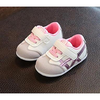 preiswerte Schuhe für Kinder-Jungen / Mädchen Komfort Gitter Sneakers Kleinkinder (0-9 m) / Kleinkind (9m-4ys) Grün / Rosa / Hellblau Frühling & Herbst / Sommer