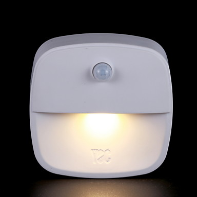 1pc LED noćno svjetlo Toplo bijelo Kreativan <=36 V
