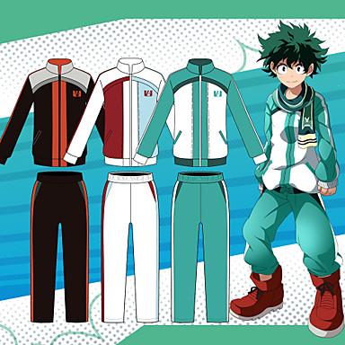 My Boku No Hero Academia Todoroki Shouto Midoriya Izuku Uniform Costume Outfits