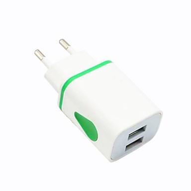 Prenosivi punjač / Bežični punjač USB punjač EU utikač Normal 2 USB portova 1 A DC 5V za
