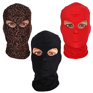 Zentai odijela Mask Hood Mask Dječji Odrasli Cosplay Nošnje Masks Spol Halloween Muškarci Žene Crn / Red / Kava Jednobojni Halloween Karneval Valentinovo / Odijelo za kožu / Visoka elastičnost