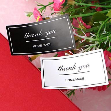 Vjenčanje / Novorođenče / Rođendan Naljepnice, etikete i oznake - 12 pcs Kuboidan Naljepnice Sva doba