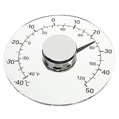 billige Test-, måle- og inspeksjonsverktøy-klar fahrenheit celsius grad sirkulær utendørs termometer hygrometer temperatur fuktighetsmåler