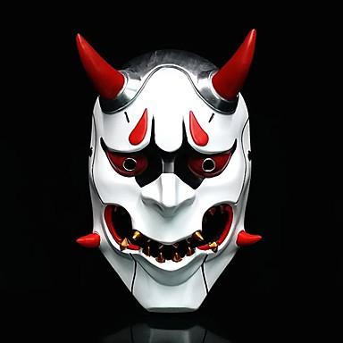 Japanska maska Hanna Omen Inspirirana Cosplay Obala Užas Božić Božić Halloween Karneval Odrasli Muškarci Žene / Mask / Mask