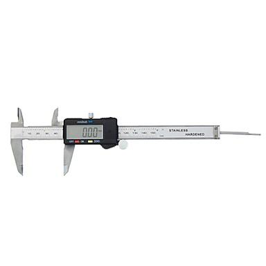 voordelige Test-, meet- & inspectieapparatuur-digitale schuifmaat lcd roestvrij elektronische liniaal micrometer meten 0-6inch 150mm