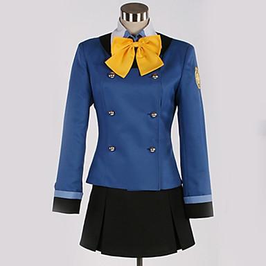 Inspirirana Cosplay Cosplay Anime Cosplay nošnje Japanski School Uniforms Uglađeni / Suvremeno Kravata / Top / Suknja Za Muškarci / Žene