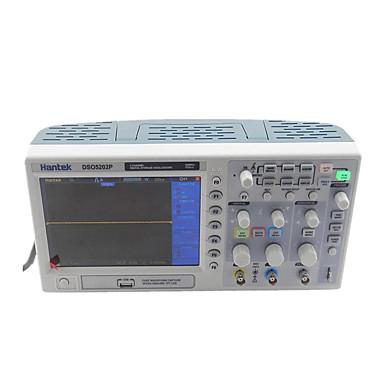 levne Testovací, měřící a kontrolní vybavení-digitální osciloskop 200mhz hantek dso5202p šířka pásma 2 kanály pc usc lcd přenosné osciloscopio portatil elektrické nářadí