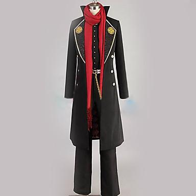 Inspirirana Touken Ranbu Cosplay Anime Cosplay nošnje Japanski Cosplay Suits Posebni dizajni Kaput / Mellény / Bluza Za Muškarci / Žene / Top / Rukavice