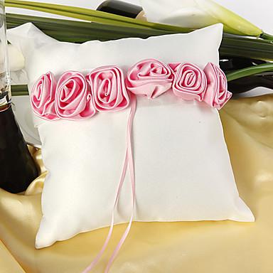 Silk Like Satin Cvijet od satena Saten ring pillow Vjenčanje Sva doba