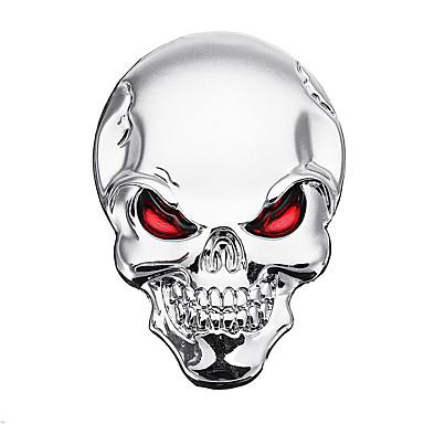billige Automotiv-3d demon kranett metall klistremerker bein emblem emblem emblem for bil motor lastebil