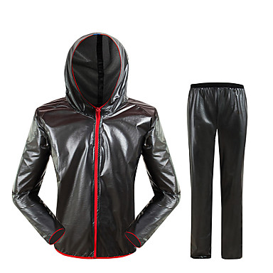 povoljno Motori i quadovi-motocikl unisex jahanje kiša kaput odijelo skinsuit ultra tanki prozračni prijenosni kišni kaput odijelo