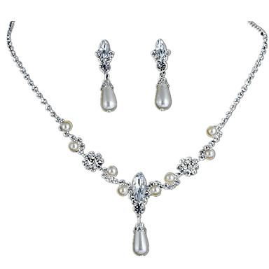 Women S Bridal Jewelry Sets Tennis Chain Drop Stylish Simple