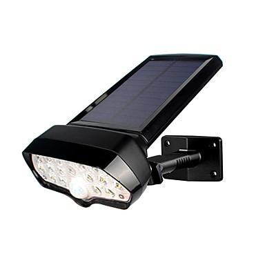 1pc 2 W Solarna zidna svjetlost Vodootporno / Sunce / Ukrasno Bijela 5.5 V Vanjska rasvjeta / Bazen / Dvorište 16 LED zrnca