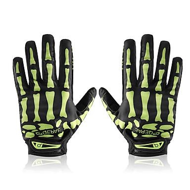 Men Cycling Biker Racing Sports Motorcycle Skeleton Bone Full Finger Gloves NZ