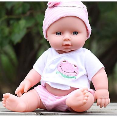 KIDDING Autentične bebe Djevojka lutka Za muške bebe Za ženske bebe 24 inch Cijeli silikon tijela Silikon Vinil - vjeran Ručno Izrađen Djeca / Teen Divan Dječjom Igračke za kućne ljubimce Poklon